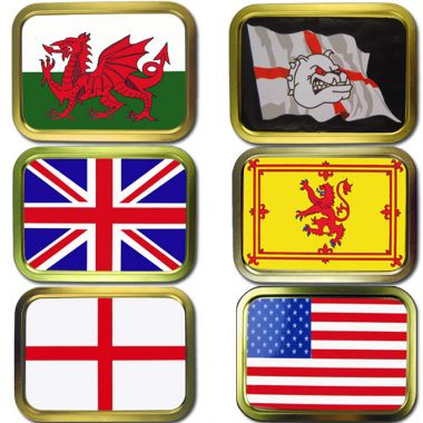 2oz Flag Tins