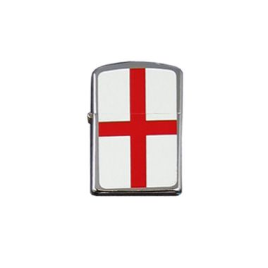 Flag Design Petrol Lighter - English Flag