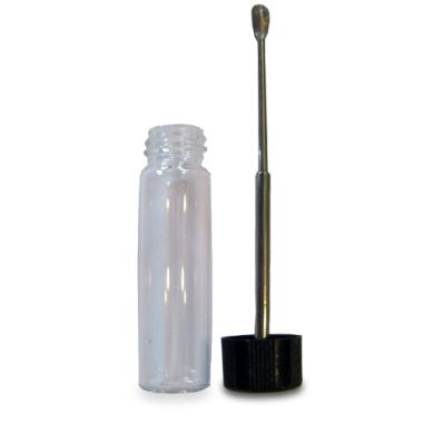 Telescopic Spoon Snuff Bottle - Clear