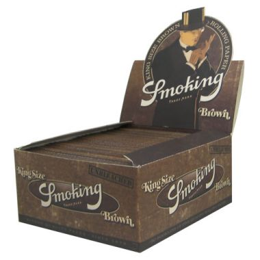 Smoking Brown King Size - Box of 50