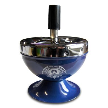 Cheeky One Retro Spinning Ashtray - Blue