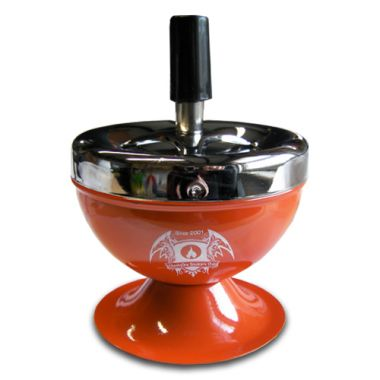 Cheeky One Retro Spinning Ashtray - Orange