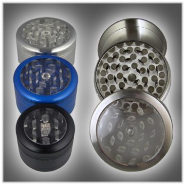 Clearview 3 Part Sifter Grinders - 55mm