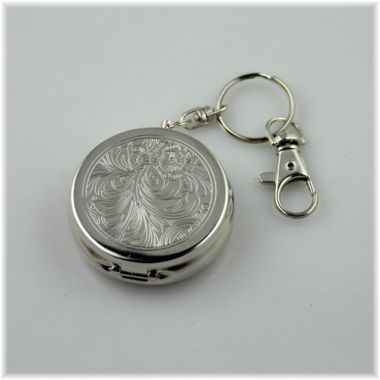 Keyring Pill Box