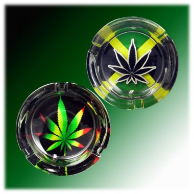 The Hemp Collection Glass Ashtrays