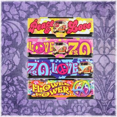 Flower Power Kingsize Paper Case