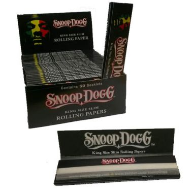 Snoop Dogg King Size Slim Rolling Papers Packet
