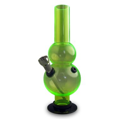 Mini Acrylic Waterpipes - Double Bubble