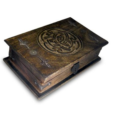 Celtic Trinity Knot Box - Large