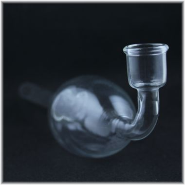 Glass Pipe with Globular Expansion Chamber