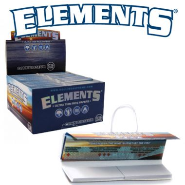 Elements Ultra Thin Rice Papers Connoisseur