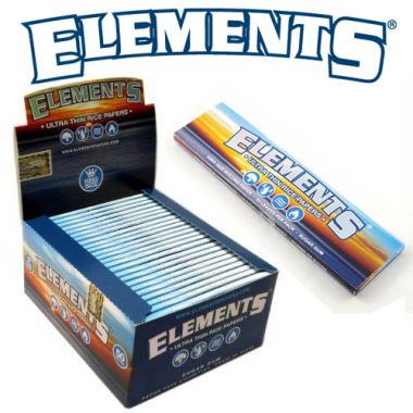 Elements Ultra Thin Rice KS Slim Papers - Single Packet