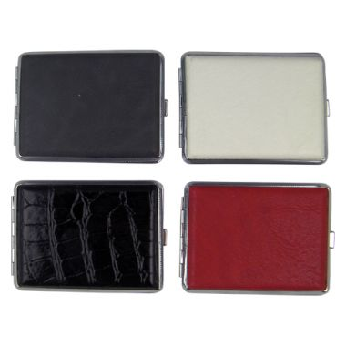 Assorted Leatherette Cigarette Cases