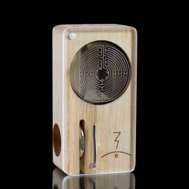 Magic Flight Launch Box Laser Etched Mini Vaporizer - Labyrinth