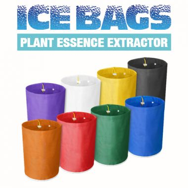Ice Bag Plant Essence Extractor Bags - 5 Gallon 5 Bag Kit