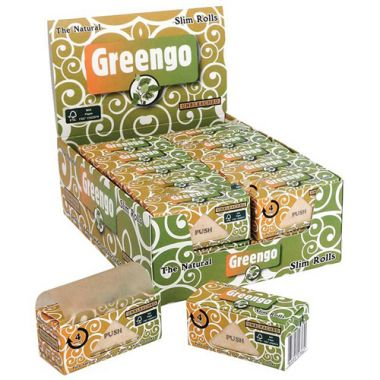 Greengo Kingsize Slim Unbleached Rolls