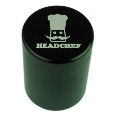 Head Chef Stash Pot - Tall Black