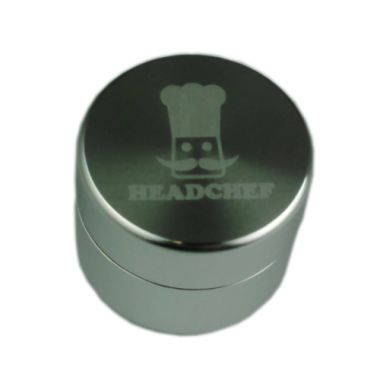 Head Chef Stash Pot - Short Silver