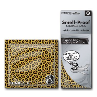 Stink Sack Quart 3 pack - Leopard