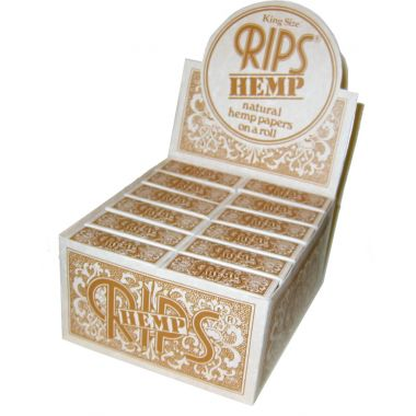 Rips - Natural  Slim - Box of 24