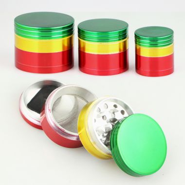 Rasta 4 Part Metal Sifter Grinder