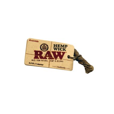 RAW Hemp Wick - 1 metre (3.3ft)