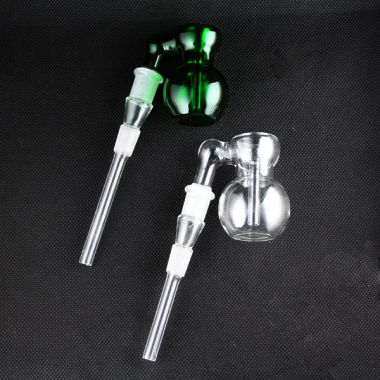 Mini Glass 14.5mm Ash Catcher Downpipe