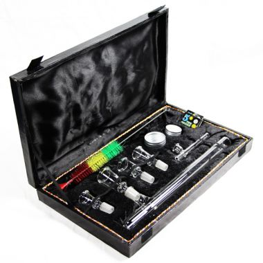 Deluxe Steamroller Pipe Set and Carry Case
