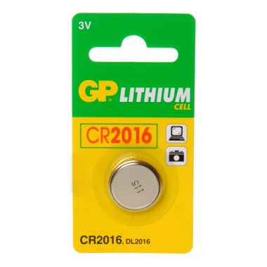 GP Lithium Cell CR2016 Battery