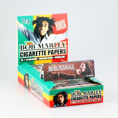 Bob Marley 1 1/4 Pure Hemp Rolling Papers