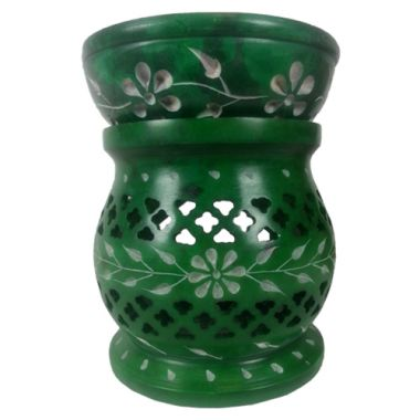 Large Elven Oil Burners - Green