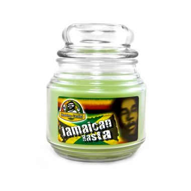 Headshop Candles (16oz) - Jamaican Rasta