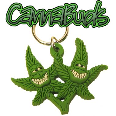 Cannabuds Keyring - The Twins