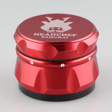 Head Chef Samurai 55mm Sifter Grinder - Red